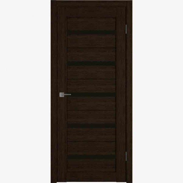 Межкомнатные двери LIGHT 7 | CHOCCO | BLACK GLOSS