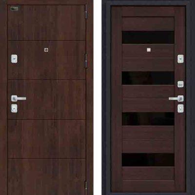 Двери входные Porta M 4. П23 Almon 28/Wenge Veralinga