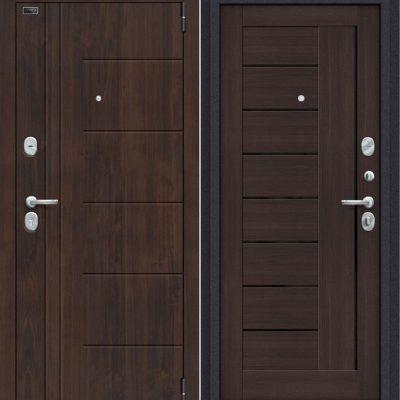 Двери входные Porta S 9. П29 Almon 28/Wenge Veralinga
