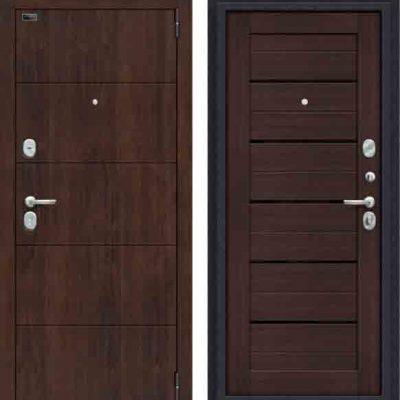 Двери входные Porta S 4. П22 Almon 28/Wenge Veralinga