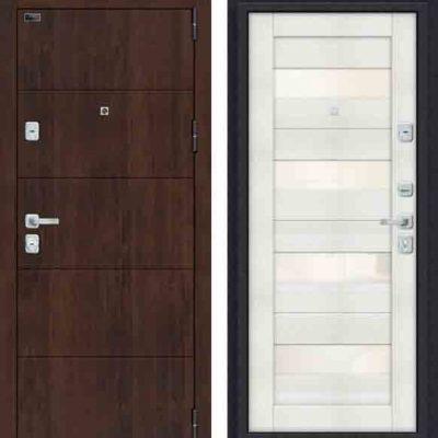 Двери входные Porta M 4. П23 Almon 28/Bianco Veralinga