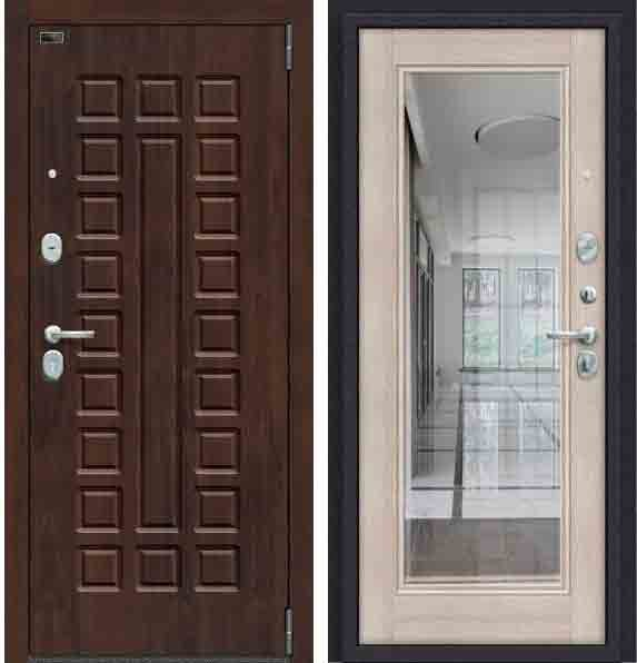 Двери входные Porta S 51. П61 Almon 28/Cappuccino Veralinga
