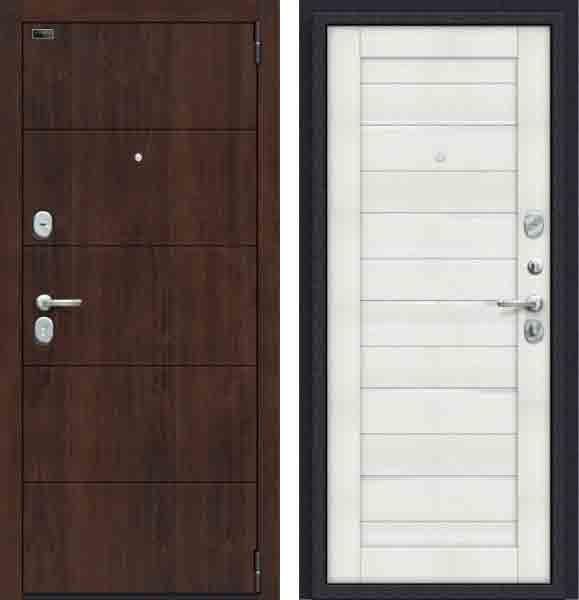 Двери входные Porta S 4. П22 Almon 28/Bianco Veralinga