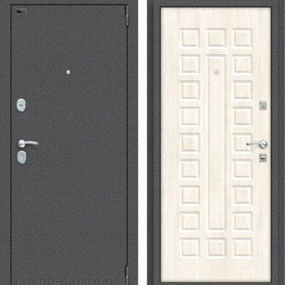 Двери входные Реновация Антик Серебро/Nordic Oak
