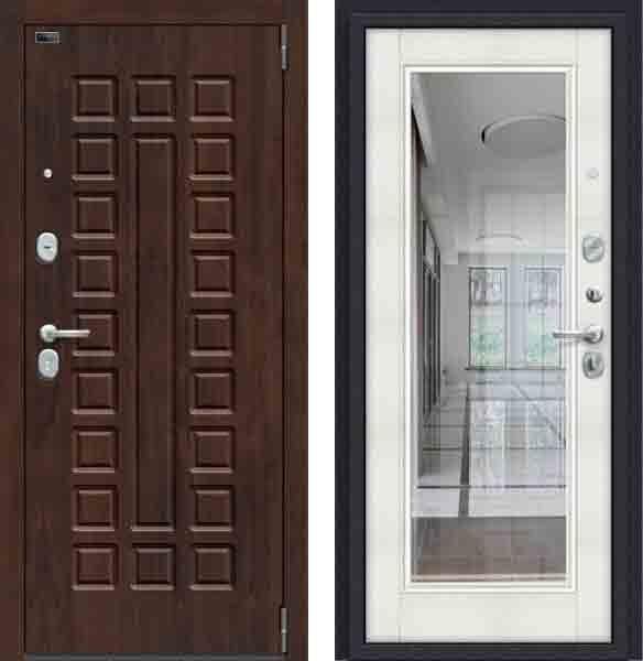 Двери входные Porta S 51. П61 Almon 28/Bianco Veralinga