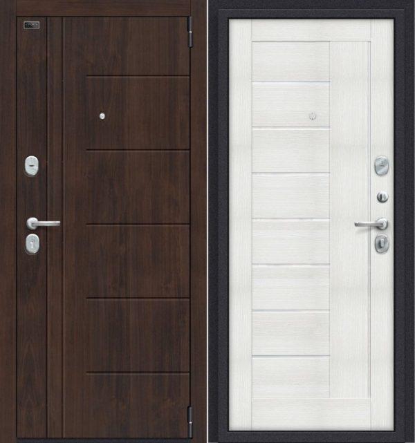 Двери входные Porta S 9. П29 Almon 28/Bianco Veralinga